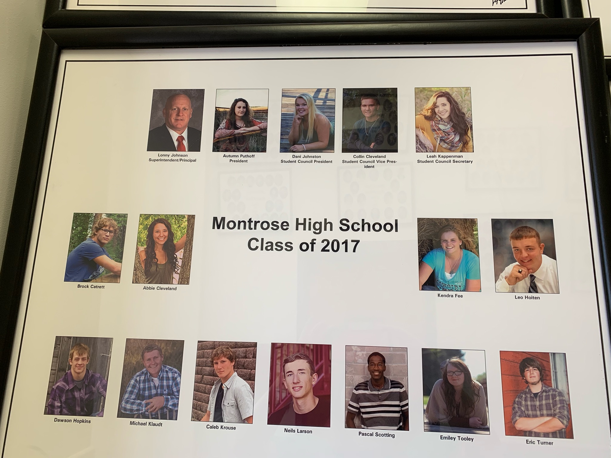Montrose Class of 2017