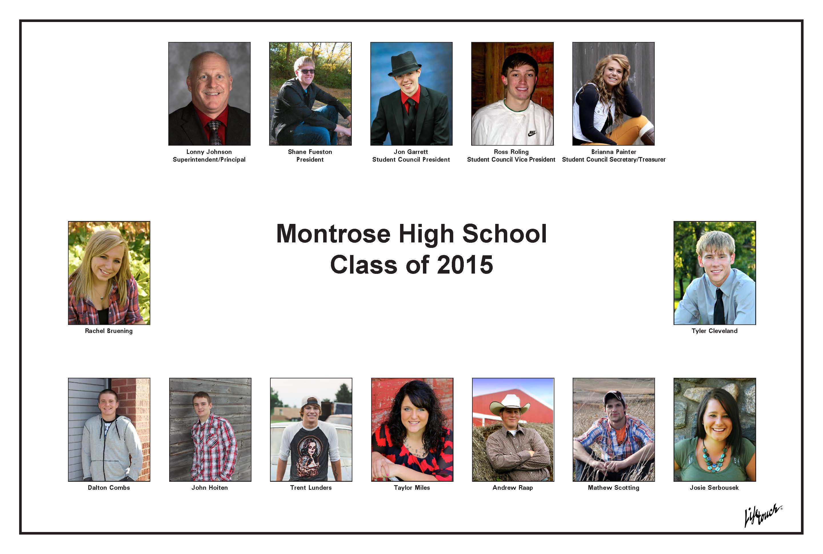 Montrose Class of 2015