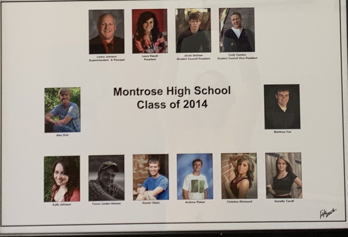 Montrose Class of 2014