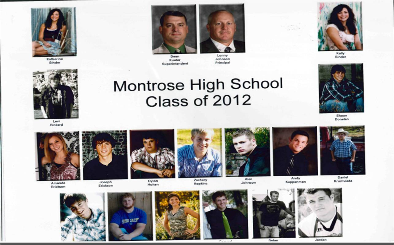 Montrose Class of 2012