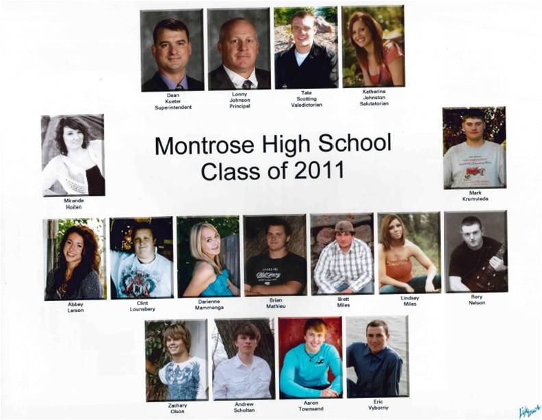 Montrose Class of 2011