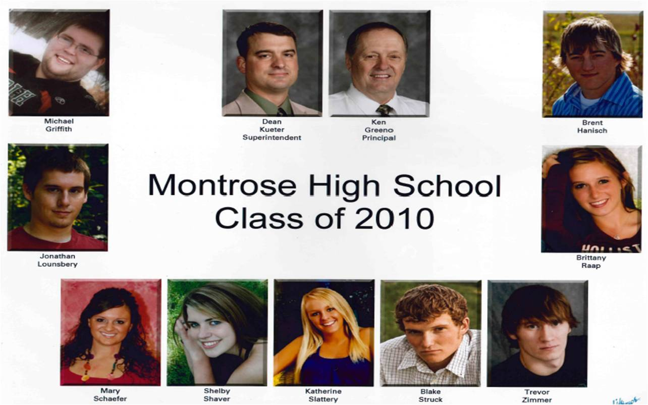 Montrose Class of 2010