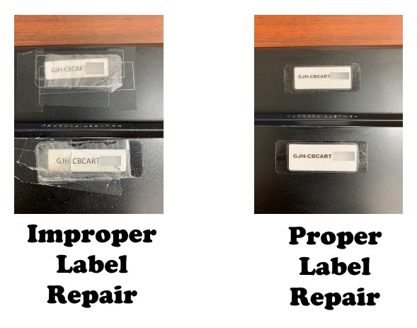 Label Replacement