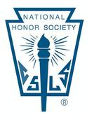 National Honor Society logo with a torch