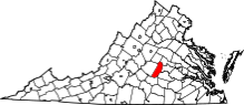 Virginia Map of Counties_ Image