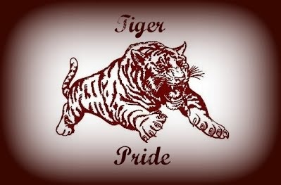 Tiger Pride with tiger logo
