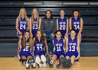 2016-17 JH Girls Basketball team picture