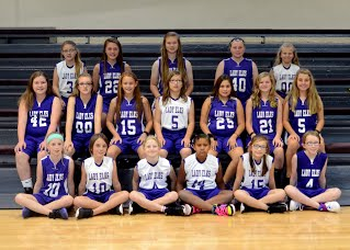 2016-17 Elementary Girls Basketball team pictures
