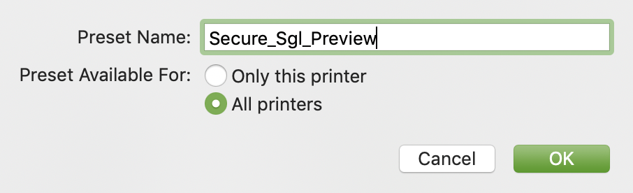 save to all printers