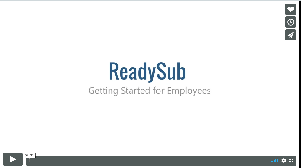 "Employee ""How To"" Video"