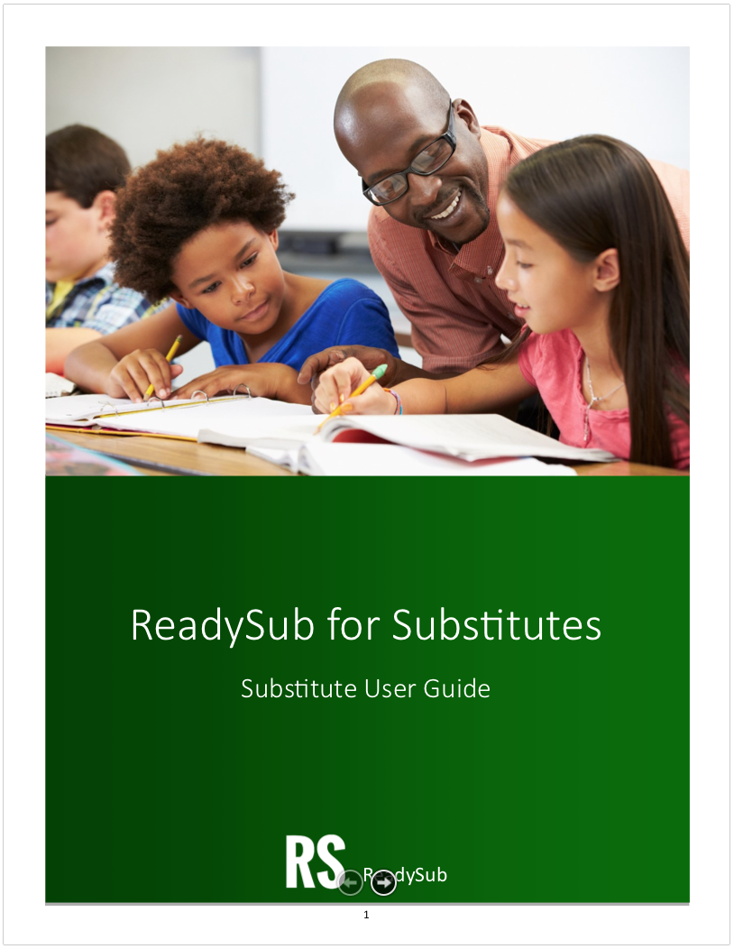 Substitute User Guide