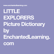 Enchanted Learning Dictionary