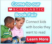 Come to our Scholastic Book Fair connect kids with books they want to read learn more icon