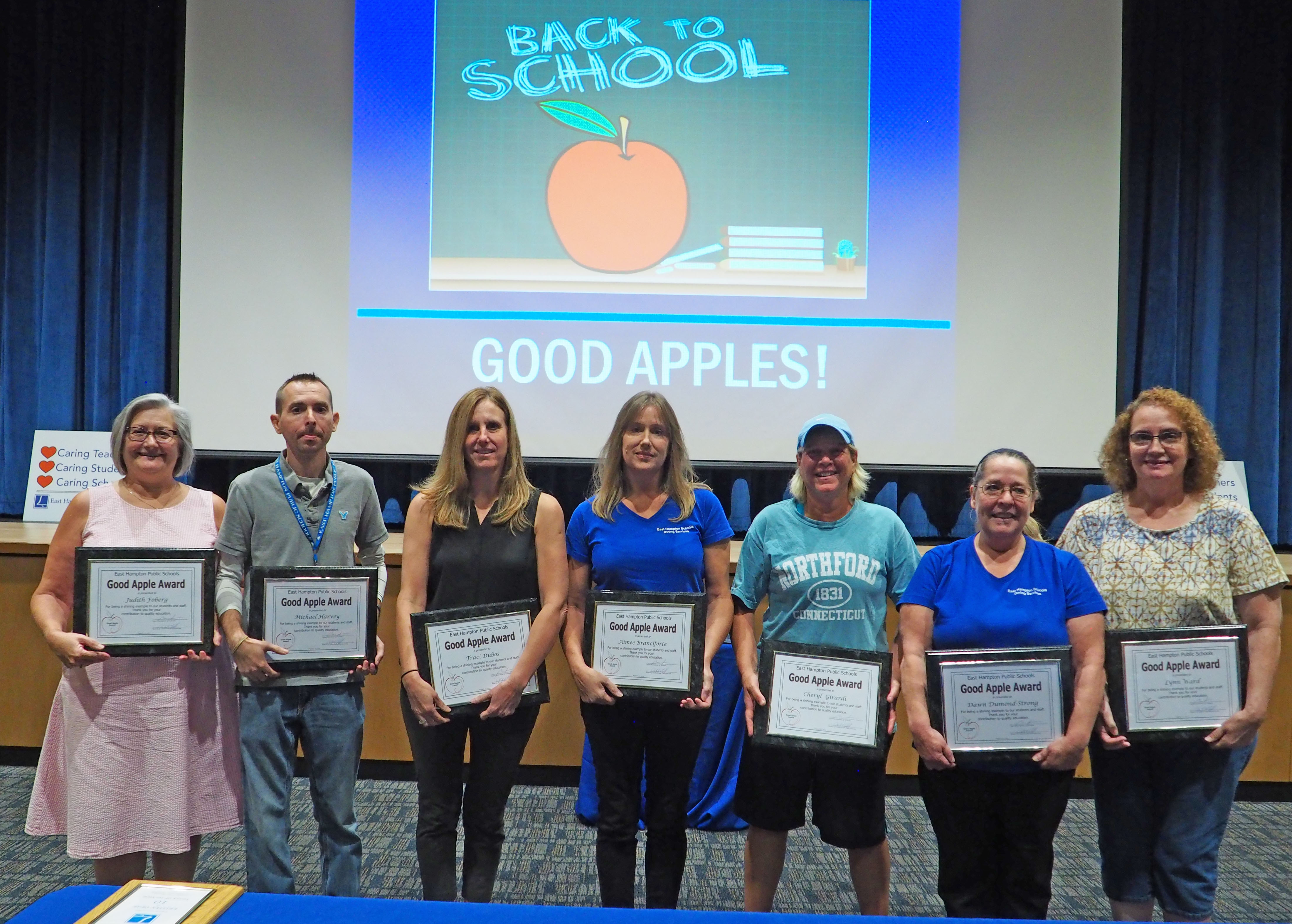 2019 Good Apple Awardees