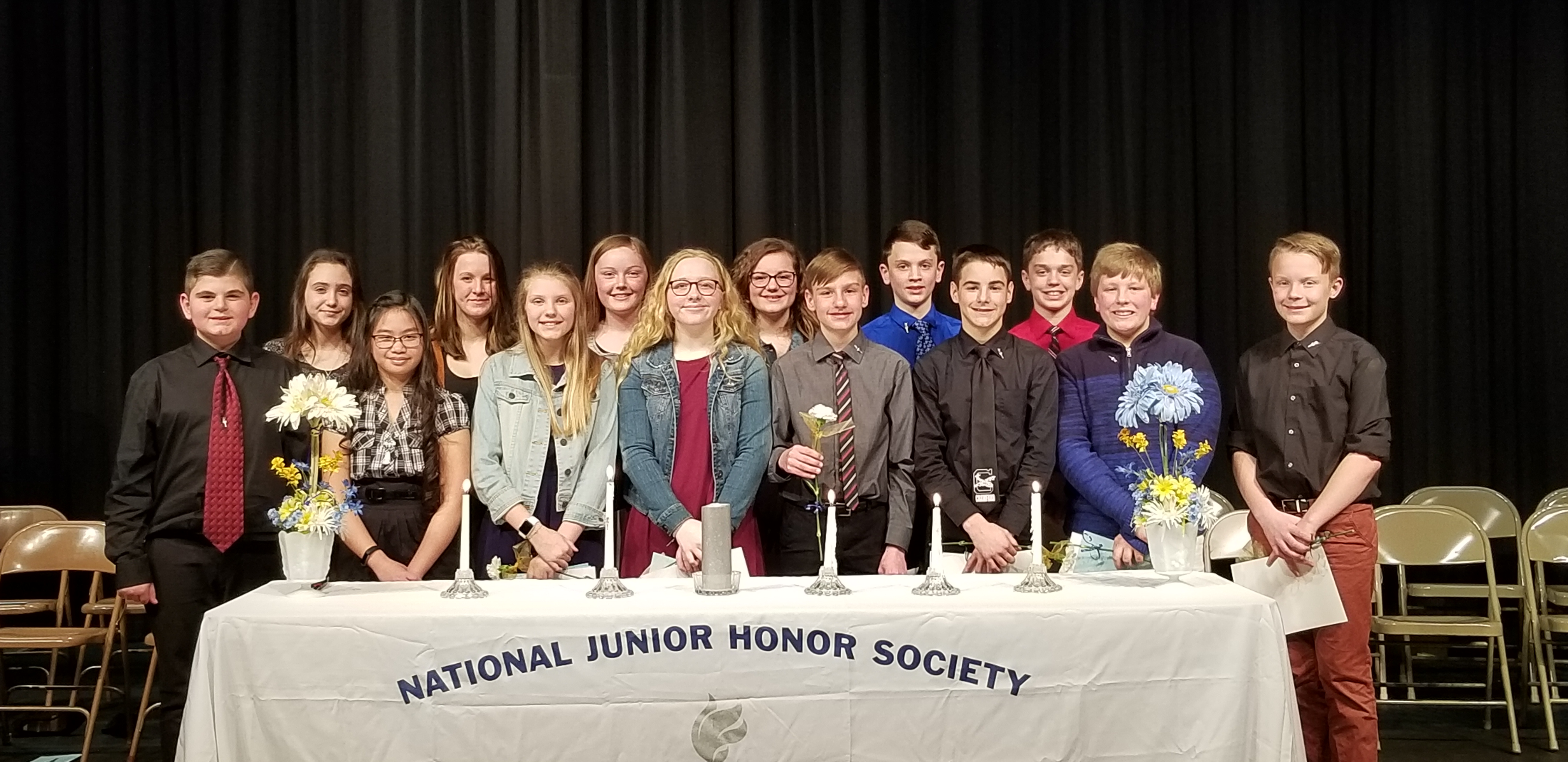 April 2019 NJHS Inductees