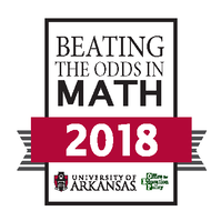 Beating the odds in Math 2018 logo