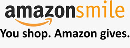 Amazon Smile. You Shop. Amazon gives. Logo