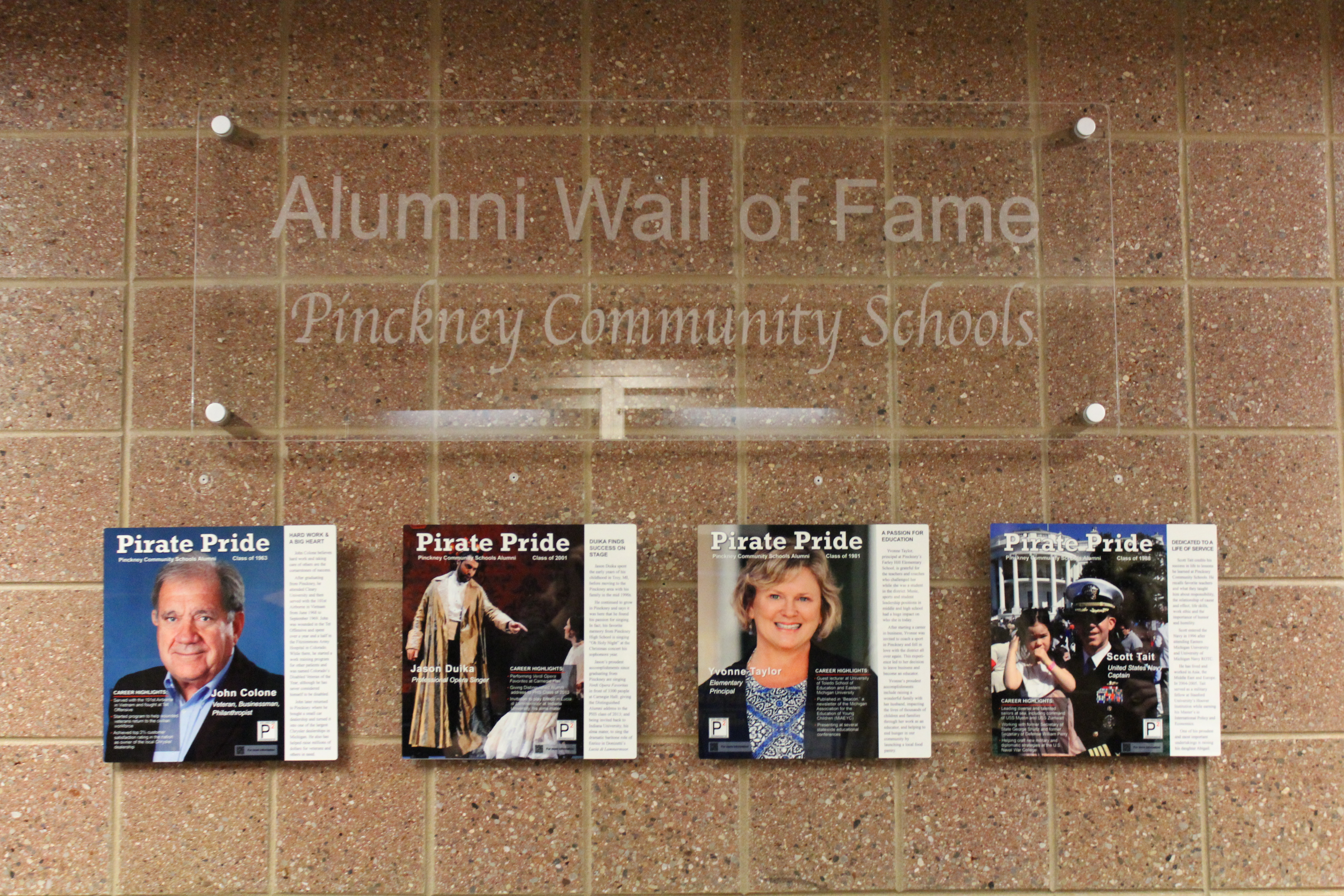 Wall of fame overview