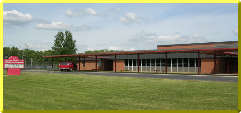 Picture of the outside of the Elementary school