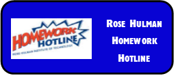 Rose Hulman Homework Hotline