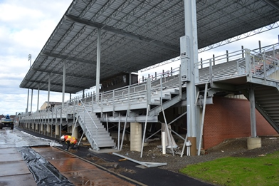 Blaine School District Bleacher Installation