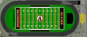 Blaine Borderites Field Turf Rendition