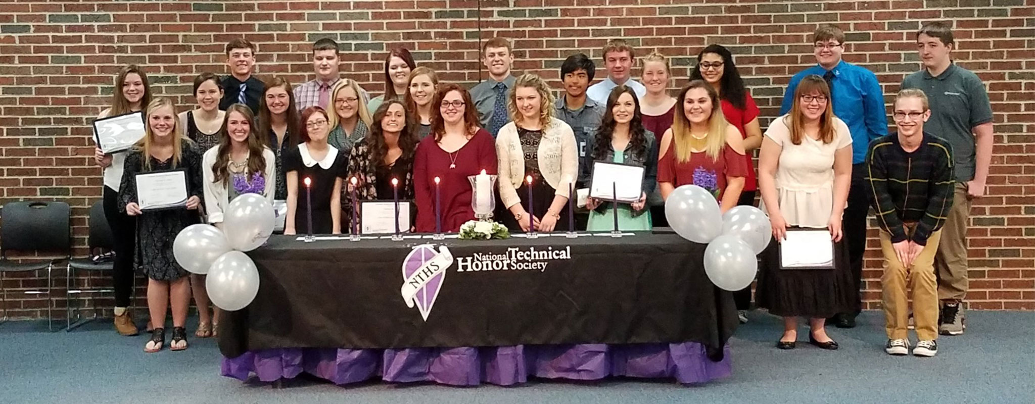 National Technical Honor Society Group of Students