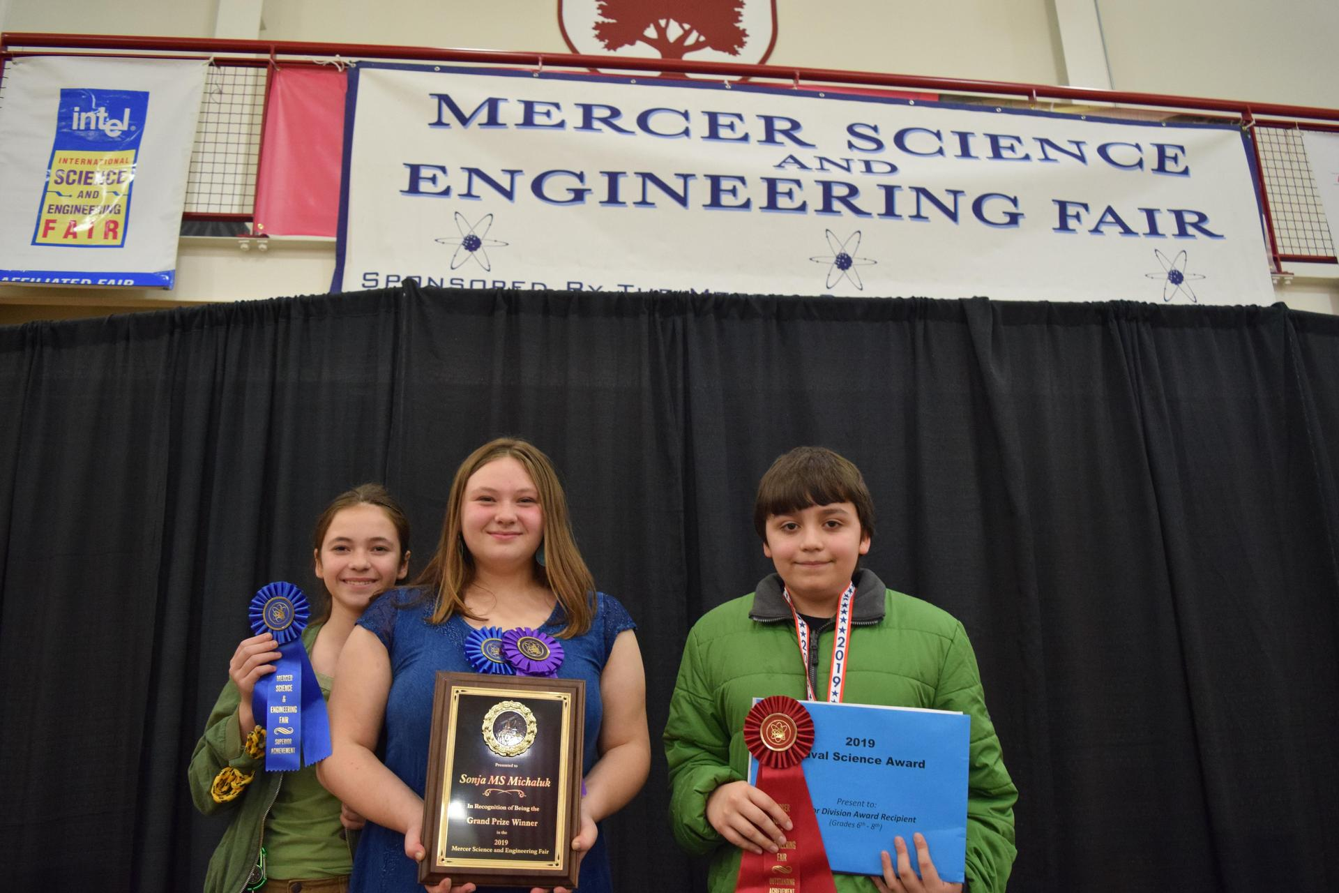 Mercer Science Fair Award Ceremony