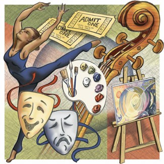 Performing Art ClipArt