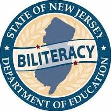 NJ Department of Education Biliteracy Logo
