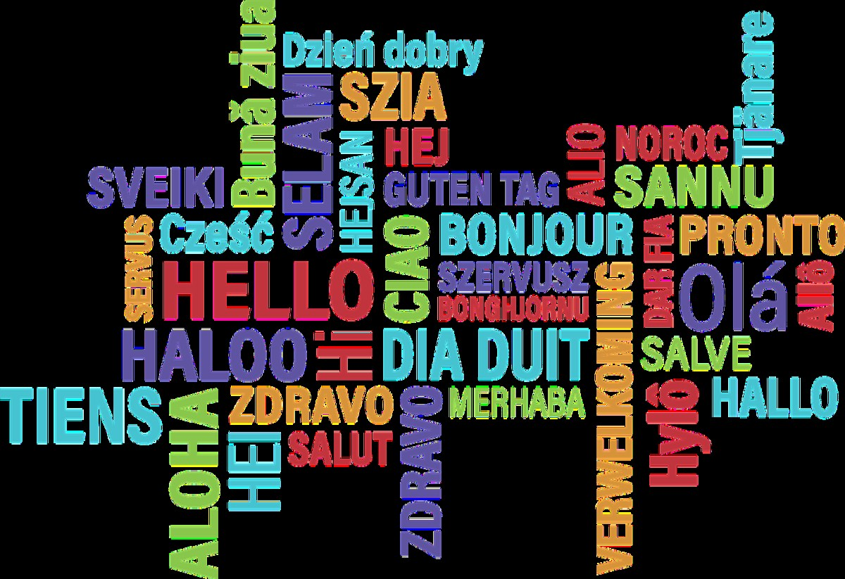 Languages Clipart