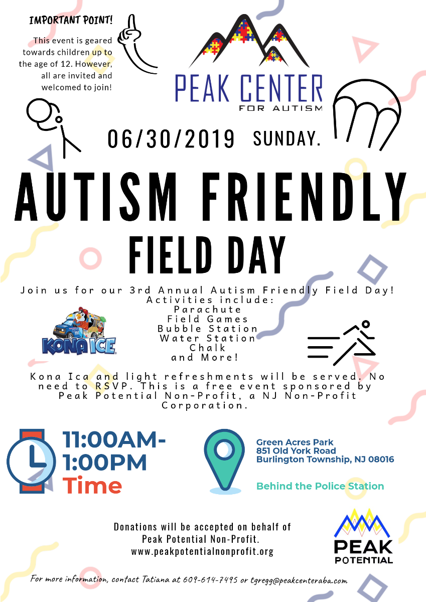 autism friendly field day