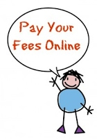 Pay your fees online with a stick figure