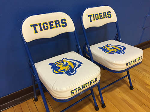 Stanfield Tiger Logo Gym Chairs