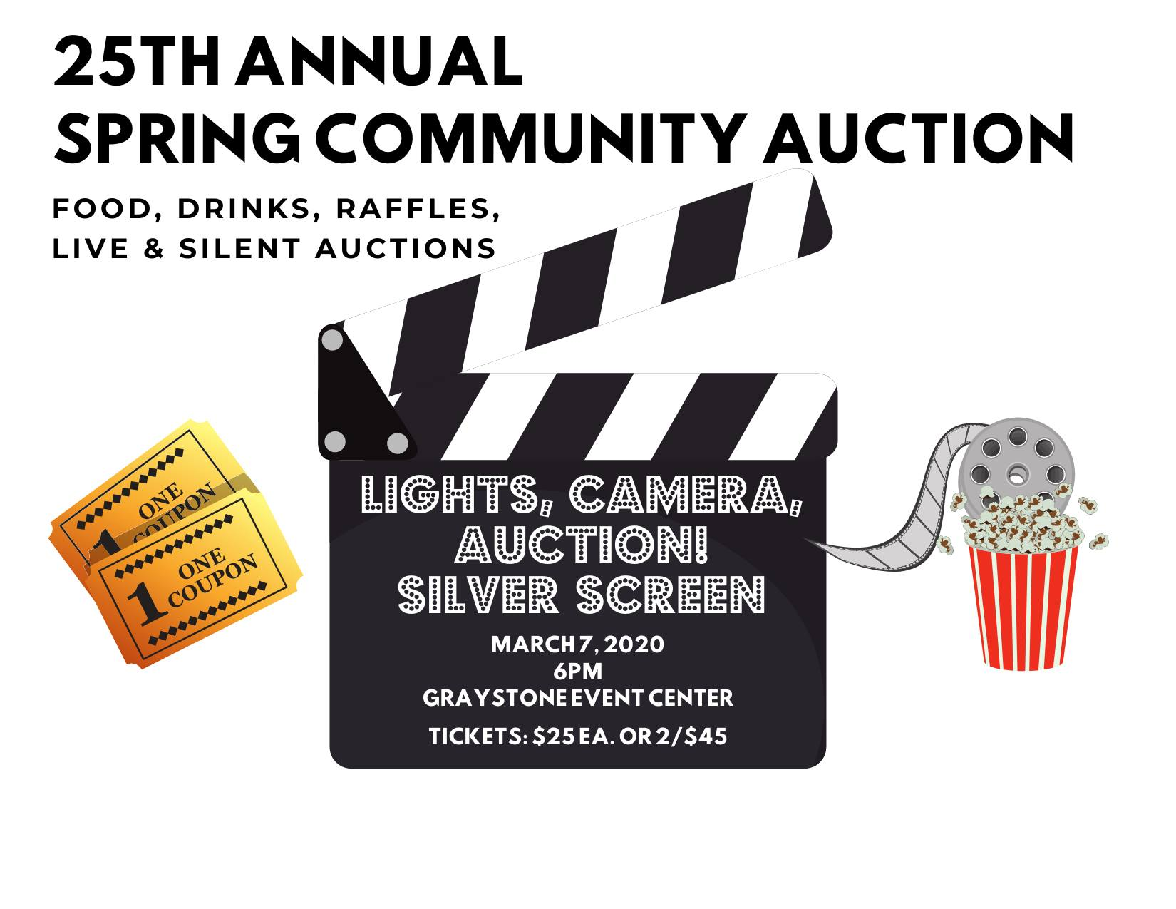 25th annual spring community auction