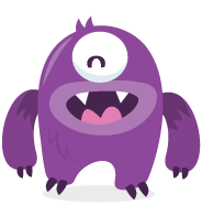 Cool Math monster logo