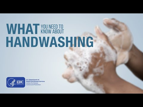CDC Handwashing