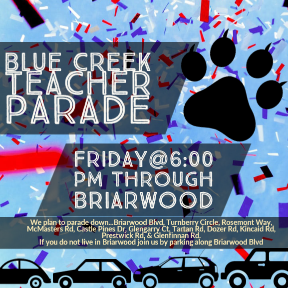 Blue Creek Staff Parade