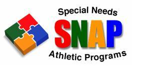 SNAP - Special Needs Athletic Programs Logo