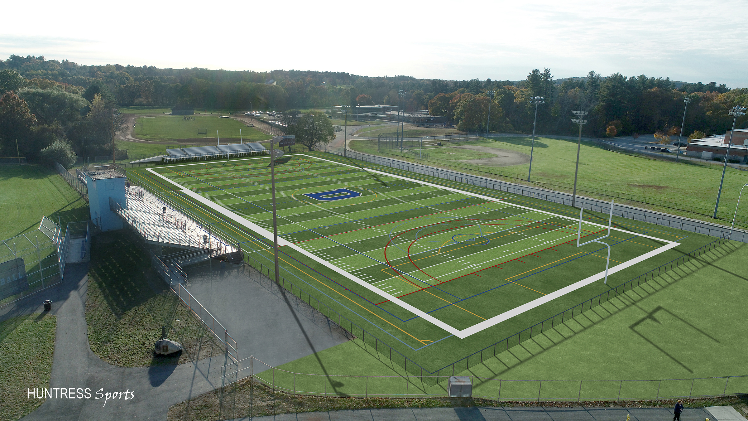 Proposed New Multi-Use Athletic Facility For Dracut