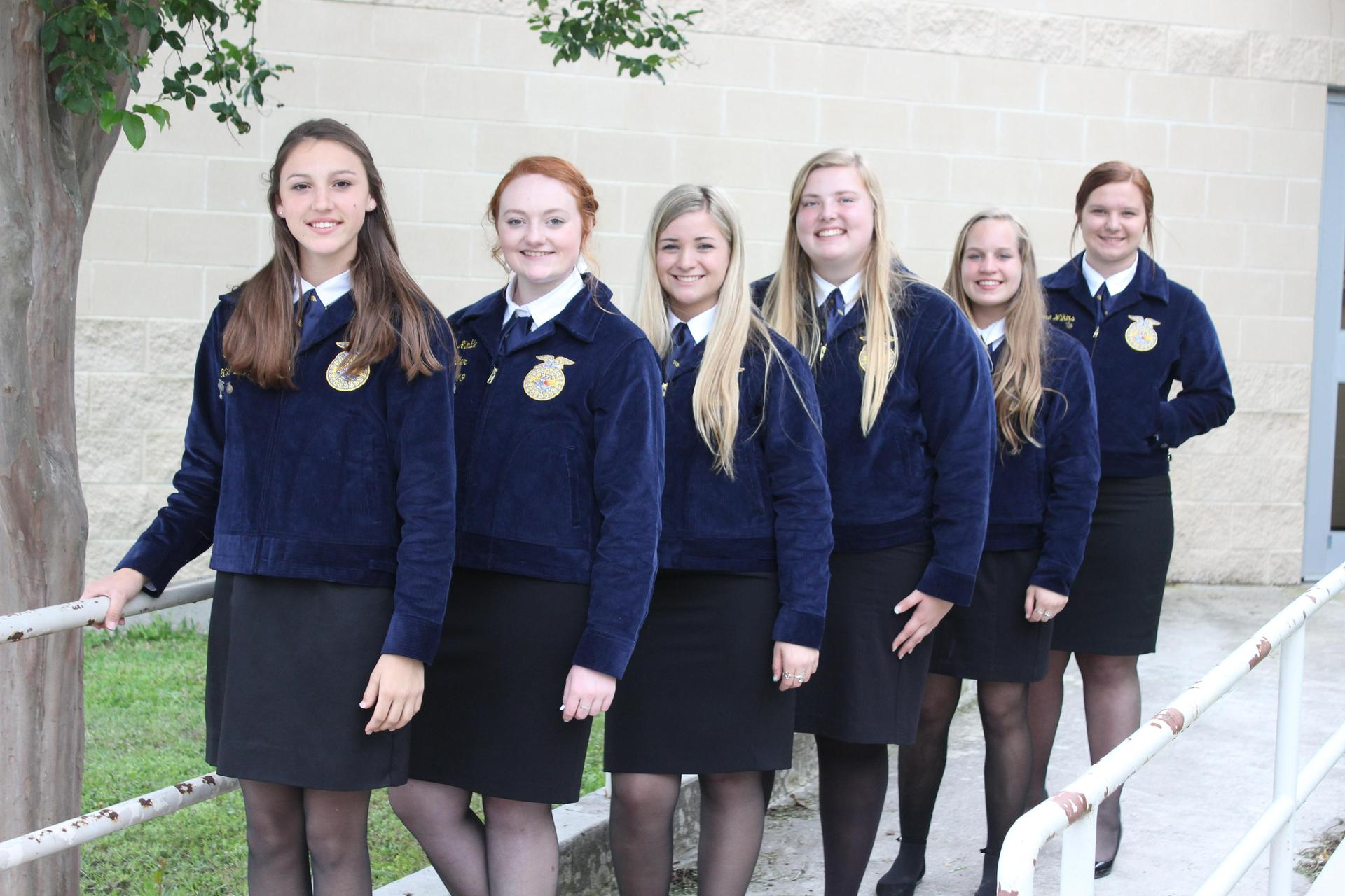 Navarro FFA Officers