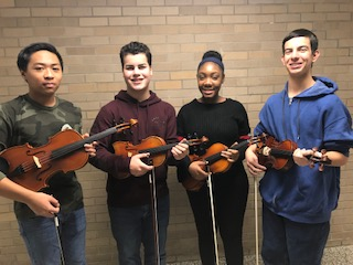 Long Island Secondary String Festival Honorees!