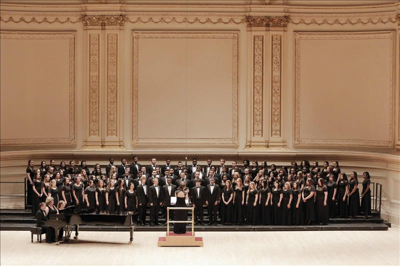 NBHS Choir performs at Carnegie Hall