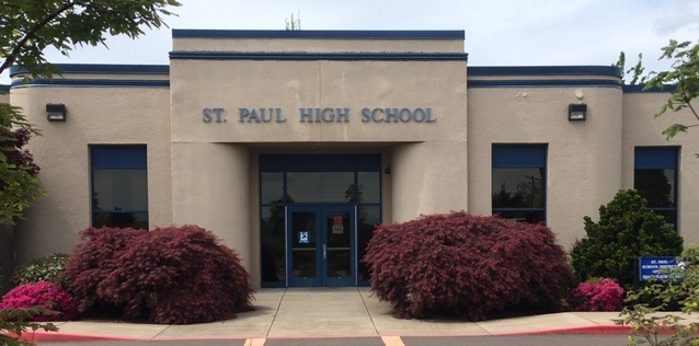 St. Paul High School front view