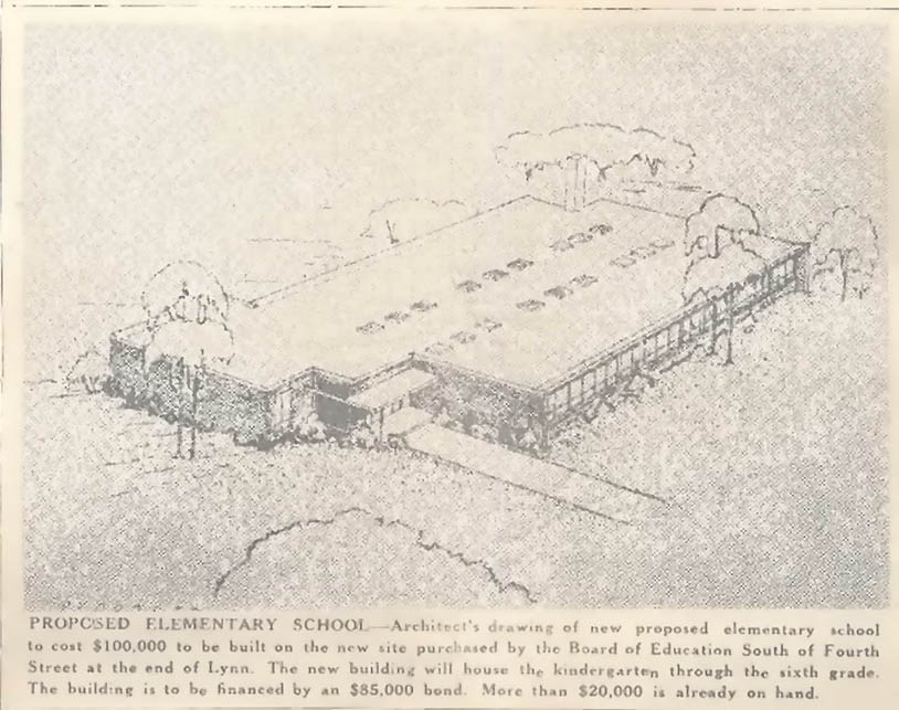 This is the New Elementary Building...1954