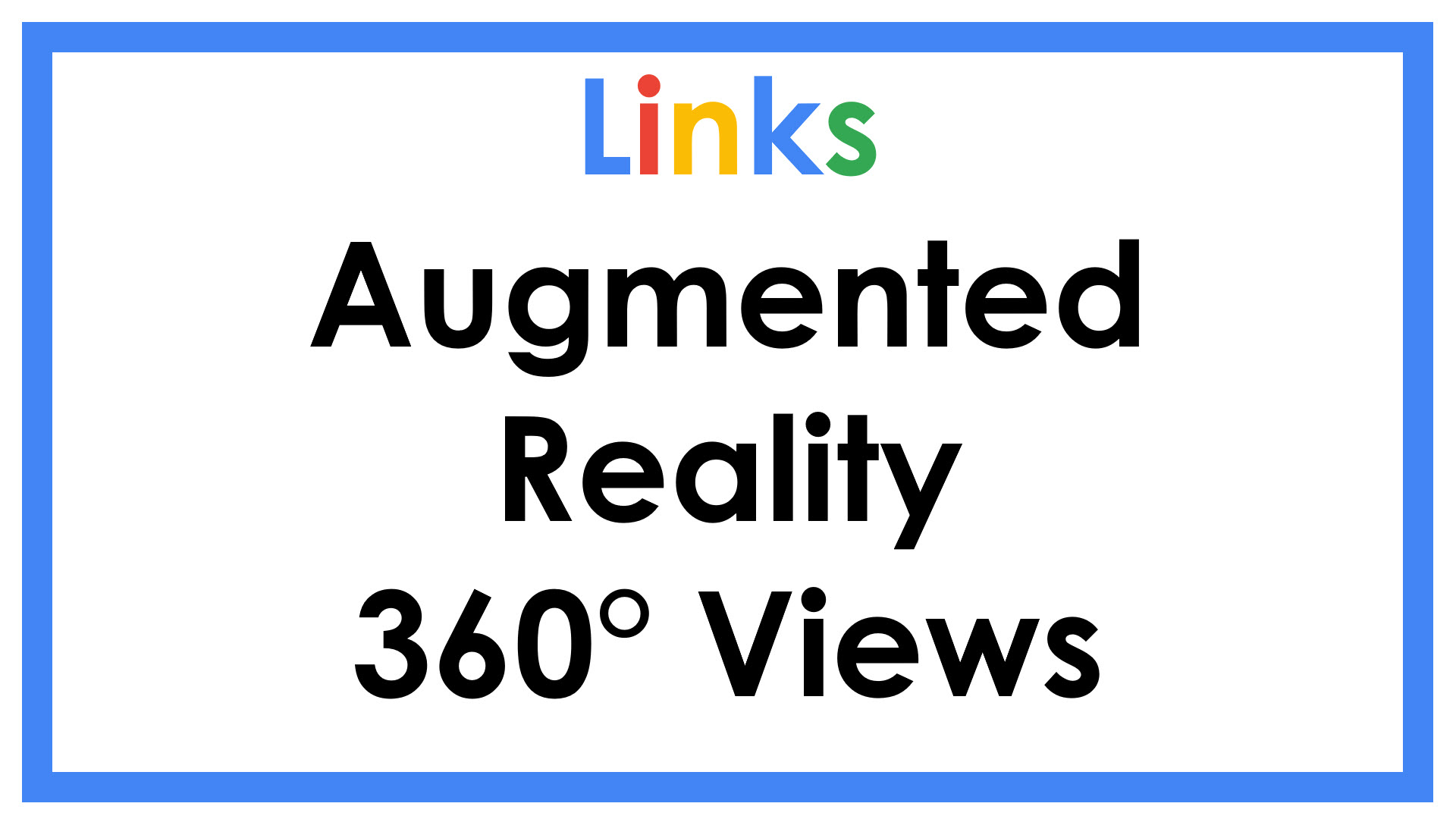 Augmented Reality 360 Views