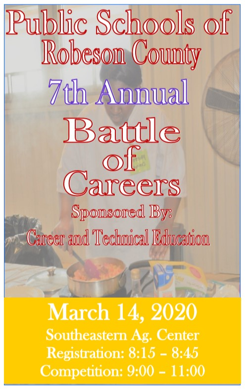 Battle of Careers 2020 poster