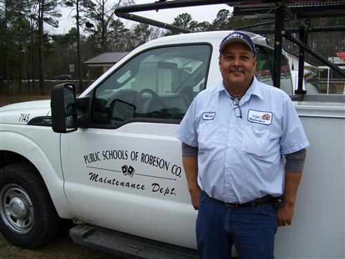 Michael Locklear, Supervisor (Electrician II)
