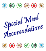 Special Meal Accomodations