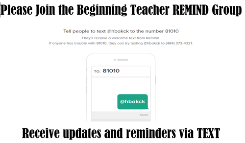 Join Our REMIND Group